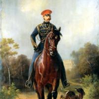 Николай Егорович Сверчков. Портрет Александра II