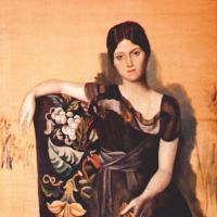 Пабло Пикассо. Портрет Ольги в кресле