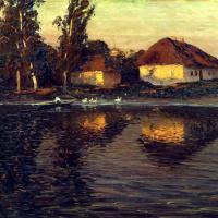 Николай Никанорович Дубовской. Вечер в Украине