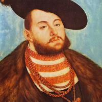 Лукас Кранах Старший. Портрет Иоанна Фридриха, курфюрста Саксонского