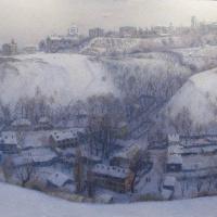 Зима в старом Киеве