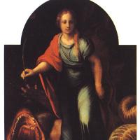 Рафаэль Санти. Змей и Крест