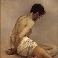 Хоакин Соролья (Соройя). Академический эскиз с натуры