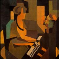 Рене Магритт. Жоржетта за пианино