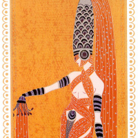"""Romain Tirtoff. Pearl Of The Orient. A Series Of """"Scheherazade"""""""