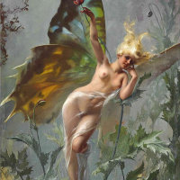 Женщина-бабочка