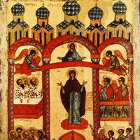 Неизвестный Автор. Покров Пресвятой Богородицы (Новгород)