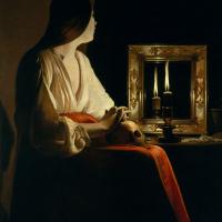 Жорж де Латур. Скорбящая Мария Магдалина