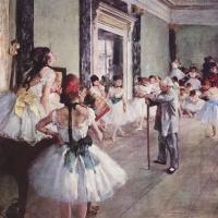 Эдгар Дега. Танцевальный класс (Балетный класс)