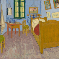 Bedroom in Arles (third version)