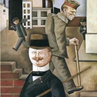 Георг Гросс. Мужчина в шляпе