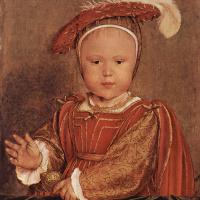 Ганс Гольбейн Младший. Портрет Эдуарда VI в младенчестве