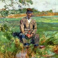 Henri de Toulouse-Lautrec. A Laborer at Celeyran