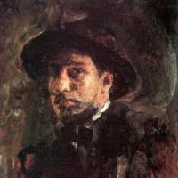 Valentin Aleksandrovich Serov. Self-portrait