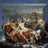 Жак-Луи Давид. Марс обезоружен Венерой и тремя грациями