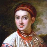 Василий Андреевич Тропинин. Девушка с Подолья