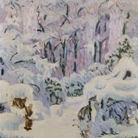 Джованни Джакометти. Первый снег