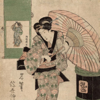 "Picture Koryusai. A series of ""Famous artists directions Ukiyo-e"""