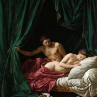 Луи Жан-Франсуа Лагрене. Марс и Венера, или Аллегория мира