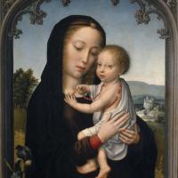 Богоматерь с младенцем (приписывается Герарду Давиду)