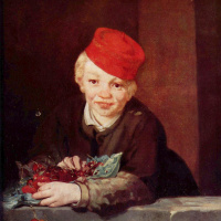 Эдуар Мане. Мальчик с вишнями