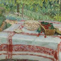 Пьер Боннар. Натюрморт с вишнями