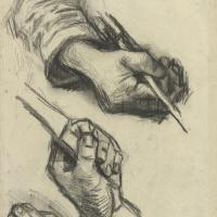 Винсент Ван Гог. Три руки, две с ножами