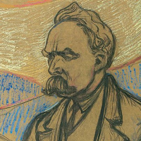 Portrait Of Friedrich Nietzsche