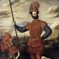 Тициан Вечеллио. Портрет мужчины в костюме воина (Аллегория контроля)