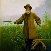 Иван Николаевич Крамской. Портрет А.Н.Майкова на рыбной ловле