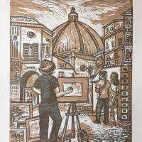 Андрей Леонидович Шепель. Флорентийский художник