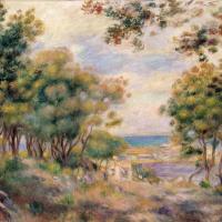 Пейзаж в Болье