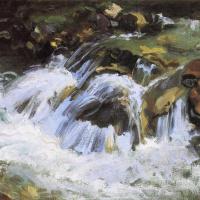 Горный ручей Тироля
