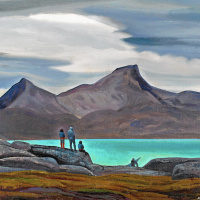 Фиорд Сермилик, Гренландия