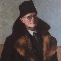 Игорь Эммануилович Грабарь. Автопортрет в шубе
