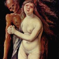 Hans Baldung. Death and the maiden