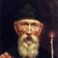 Василий Андреевич Тропинин. Монах со свечой