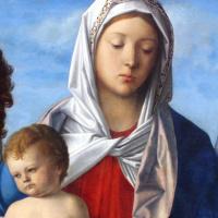 Мадонна с младенцем, Иоанном Крестителем и Святой Елизаветой. Фрагмент