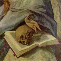 Эль Греко (Доменико Теотокопули). Кающаяся Мария Магдалина (фрагмент)