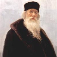 Портрет Владимира Васильевича Стасова, художественного и музыкального критика, историка искусств