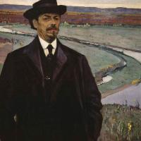 Mikhail Vasilievich Nesterov. Self-portrait