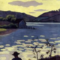 Поль Серюзье. Рыбак на реке