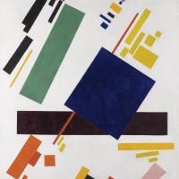 Kazimir Severinovich Malevich. Suprematist composition