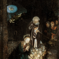 Лукас Кранах Старший. Рождество Христово