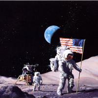 Винсент Ди Фейт. Первая лунная посадка