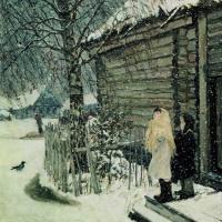 Аркадий Александрович Пластов. Первый снег