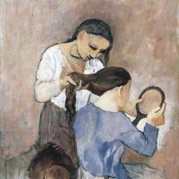 Пабло Пикассо. Длинная коса