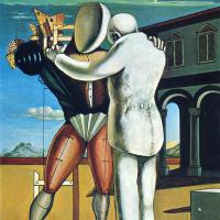 Giorgio de Chirico. Two figures