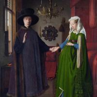 Portrait of Arnolfini couple