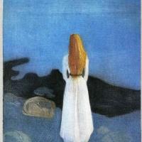 Edvard Munch. The girl on the beach